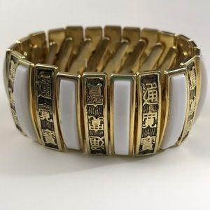 Stunning unique vintage stretch bracelet